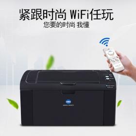 【无线手机直连速抢】无线直连打印机 柯尼卡美能达2200P激光A4黑白WIFI打印机家用小型手机无线直连无线打印 作业错题试卷打印机个人办公打印