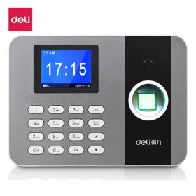 得力(deli)3747 TCP/IP指纹考勤机 局域网指纹打卡机