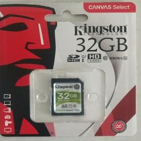 金士顿(Kingston)32G SD卡 存储卡 80M 高速 连续拍摄更流畅