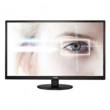 AOC E2270SWN 21.5英寸LED不闪屏高清液晶显示器家用办公电脑显示器AOC E2270SWN显示器AOC21.5寸显示器  22寸