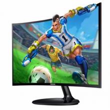 三星(SAMSUNG) C27F390FH 27英寸1800R震撼曲率爱眼低蓝光曲面 27寸液晶显示器   27寸曲面电脑显示屏幕