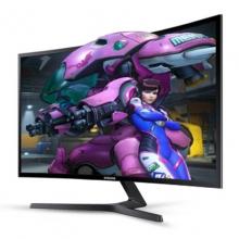 【正品行货】三星(SAMSUNG) C27F396FHC 27英寸LED背光曲面显示器 电脑液晶屏幕 双接口VGA+HDMI 27寸显示屏
