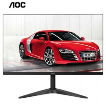 AOC冠捷电脑显示器  27B1H 27寸LED显示器 广视角显示器 IPS技术广视角屏 家用HDMI版超窄无边框设计27英寸