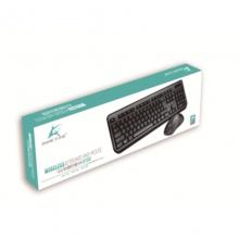 大白鲨8700 2.4G无线键鼠套装 键盘鼠标