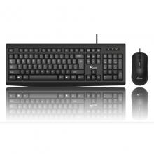 大白鲨SK-708(U+U)有线键鼠套装键盘鼠标商用光电套装