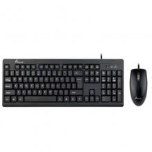 大白鲨SKM-700 (U+U)有线键鼠套装 键盘鼠标