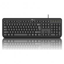 大白鲨SK-106(USB)单键盘 有线键盘黑色