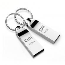 DM 8G大促价18元,大迈(DM) 8G/16GB/32G/64G USB2.0 U盘 小蝌蚪PD086系列 金属便携电脑u盘车载优盘