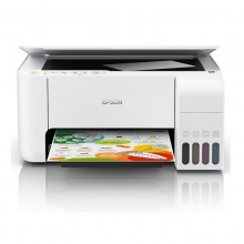 爱普生L3151小白智慧打印 彩色无线照片打印机家用 墨仓式喷墨多功能一体机连供 L3151无线三合一 官方标配