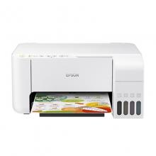 爱普生(EPSON)L3156 A4全新彩色无线多功能一体机 (打印/复印/扫描/wifi) 优雅白