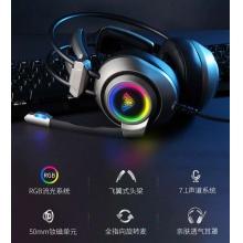 狼蛛电竞游戏耳机S600  双3.5+USB