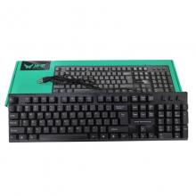 冰甲BK19USB有线键盘部分为BK20 台式机笔记本家用商务办公游戏高键帽键盘