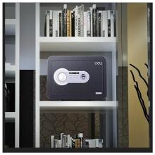 得力保险箱/保险柜系列 33473保管箱 家用小型电子密码可入墙高25