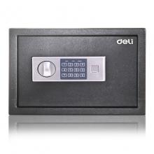 得力92620保险箱保管箱小型迷你入墙25cm家用办公保险柜密码系列