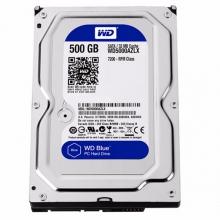 年货节#限时疯抢1天!西数500G硬盘 普通硬盘西数 500G EZLX 蓝盘西部数据(WD)蓝盘 500G SATA6Gb/s 7200转32M 台式机硬盘(WD5000AZLX)玩客云监控用拆机