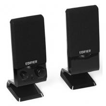 漫步者(EDIFIER) R10U 2.0声道 多媒体音箱 音响 电脑音箱 黑色 2.0USB接口 桌面音响