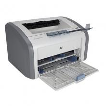 惠普(HP)LaserJet 1020 黑白激光打印机 耗材类型:一体式硒鼓HP1020