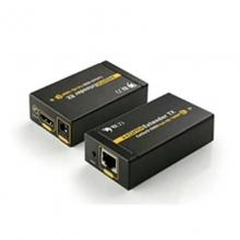 联刀 hdmi高清网线延长器60米单网线 hdmi转rj45网口双绞线信号传输器 高清1080p