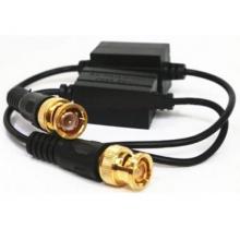 成对的价格 JH-208C 双绞线传输器 升级版 烤黑头 传输效果好 距离远 纯铜镀金针芯