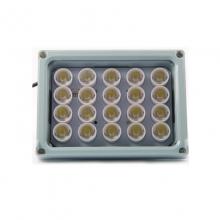 捷华视讯JH-20D 20颗补光灯铝合金外壳高效率、低功耗、寿命长监控专用补光灯
