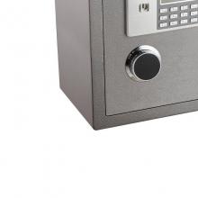 得力3613保险箱 电子密码防盗3C认证保险箱保险柜
