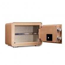得力(deli) 保险箱/保险柜系列 4082保管箱 家用小型电子密码可入墙 4082(350*250*250mm)