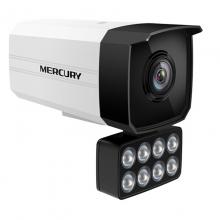 MERCURY 水星MIPC318PW  318W全彩H.265+ 300万红外网络摄像机DC POE供电 外置8灯