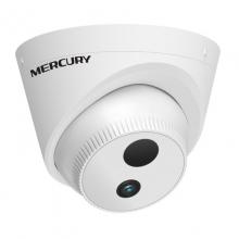 水星(MERCURY) 拾音摄像头 自带拾音器摄像头 音频摄像机 高清音频摄像头 MIPC3312P单灯300万像素POE供电半球 4mm镜头