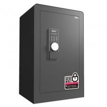 得力(deli)保险柜 45cm家用办公电子密码保险箱 全钢锁栓 入墙保管箱 3643s 钥匙密码 45cm