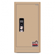 得力(deli)保险柜 高92cm指纹+密码双重防盗国标保险箱 家用办公大容量 精典4069