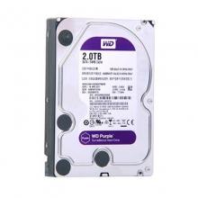 WD西数紫盘2TB SATA 64M 监控硬盘(WD20EJRX)