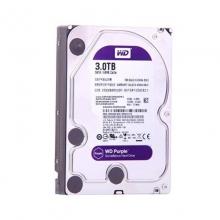WD西数紫盘3TB SATA 64M 监控硬盘(WD30EJRX)