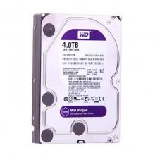 WD西数紫盘4TB SATA 64M 监控硬盘(WD40EJRX)