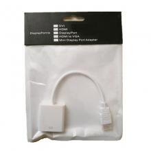 HDMI转VGA转换器不带音频高清HDMI转vga接口转换线电脑投影仪连接线